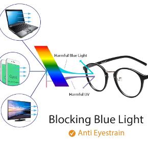 filtro luce blu per il mal di testa